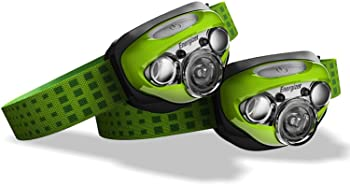 2-Pack Energizer LED Headlamp with HD+ Vision Optics