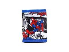 Marvel Avengers Spider-Man Blue Wallet