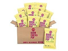 Angie's BOOMCHICKAPOP Sea Salt Popcorn, 12 Pack