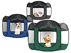 Furhaven Mesh  Pet Playpen - Your Choice