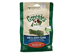 GREENIES® Hip & Joint CareDental Chew 18oz.- Regular