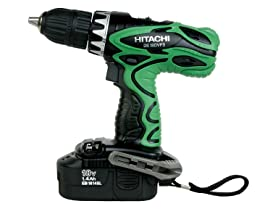 Hitachi DS18DVF3M 18V Cordless NiCd Driver Drill