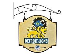 Detroit Lions Vintage Tavern Sign
