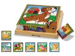 Pets 16-Pc Cube Puzzle