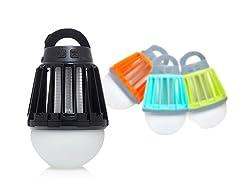 EZ Zap Lantern and Bug Zapper, 2-pk