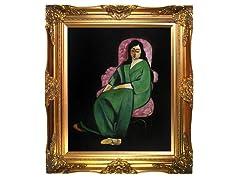 Matisse - Lorette in a Green Robe