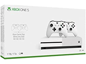 Xbox One S Two Controller Bundle (1TB) - Canadian Model