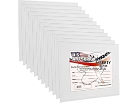 12-Pack 8x10 Canvas Panel Boards