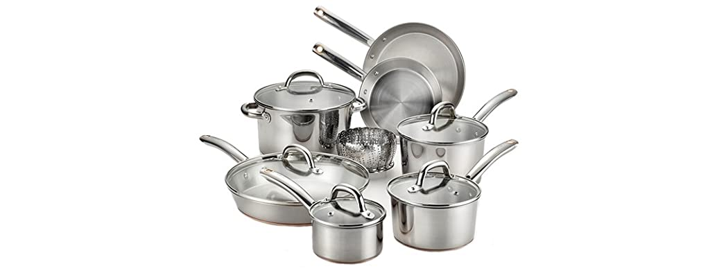 T-fal Ultimate 13-Pc Stainless Cookware Set