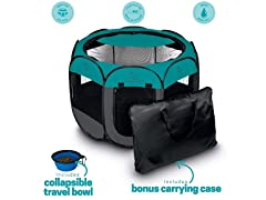 Unleashed Pets Portable Foldable Pet Playpen