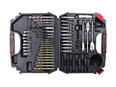 104-Piece Drill & Bit Set