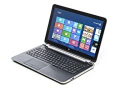 "HP 15.6"" TouchSmart Quad-Core Laptop"