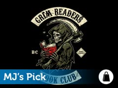Grim Readers Book Club Tote