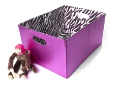 Fuchsia Metallic Foldable Storage - Lg