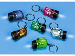 Mini Keychain Flashlight (1 pack of 12)