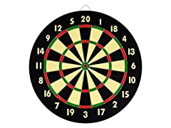 TG Dart Game Set w/ 6 Darts and Board