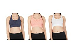 Seamless Performance Sport Bra 2-Pack