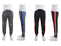 Heavyweight Stripe Fleece Jogger 2-Pack