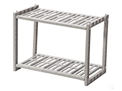 Multi-Functional Adjustable 2 Tier Rack