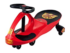 Lil' Rider Wiggle Car - Red Firefighter