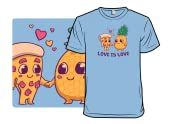 Pizza Pineapple Love