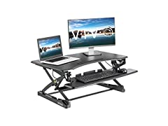 "Adjustable 35"" Stand Up Desk Converter"