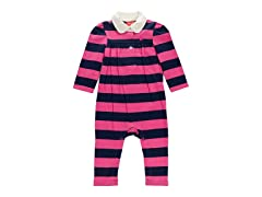 Fuschia Coverall (3-6M)