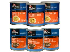 Mountain House Freeze Dried Meals 6-Pack