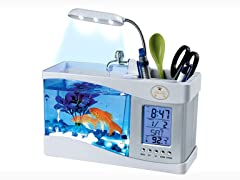 All-In-One Digital Desktop Aquarium White