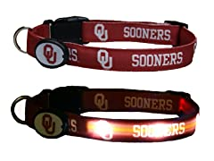 University of Oklahoma LED Collar - Lg