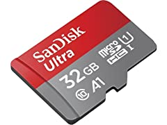 Sandisk Ultra 32GB Micro SDHC UHS-I A1 Card