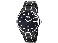 Citizen Men's Eco-Drive Diamond Watch AU