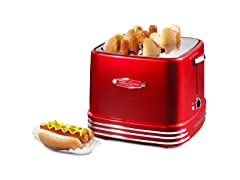 Retro 4-Slot Hot Dog Toaster