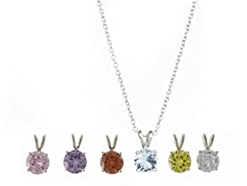 6 Pack Drop Necklace Set Giftboxed