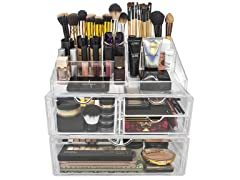 Sorbus X-Large Stackable & Detachable Makeup Storage