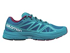 Salomon Women's Sonic Aero Shoes Blue/Teal