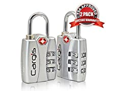 Cargis TSA Approved Luggage Locks