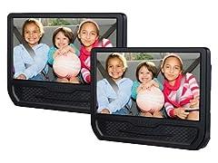 "RCA Dual 9"" Screen Portable DVD Player"