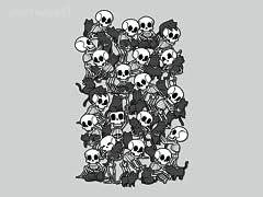 Cat Skull Party