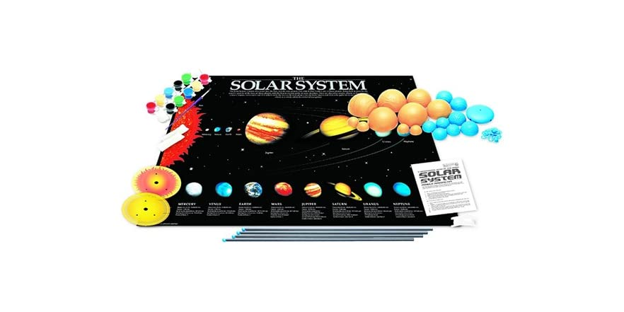 Glow-In-The Dark Solar System Kit - Kids & Toys
