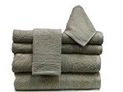 6Pc Towel Set-Dune