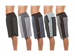 Men's Athletic Performance Shorts 5-Pack