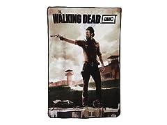 Walking Dead Fleece Throw - Rick