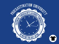 Procrastination University - Royal Blue