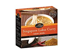 Singapore Laksa Curry Rice Noodle Soup