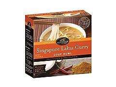 Singapore Laksa Curry Rice Noodle Soup