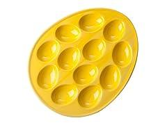 "BIA Cordon Bleu 11"" Egg Plate Sun"