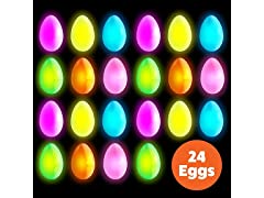 PartySticks 24pk Easter Glow Eggs