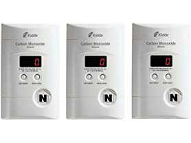 Kidde Carbon Monoxide Detector (3-Pack)