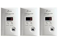 Kidde Carbon Monoxide Detector (3-Pack)